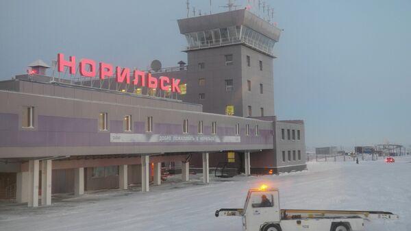 Здание аэропорта Норильск