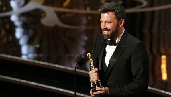 Бен Аффлек получил Оскар в номинации Лучший фильм года за фильм Операция Арго