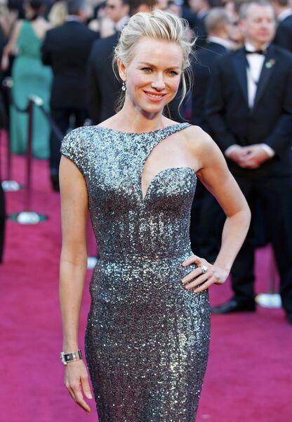 Наоми Уоттс в платье Armani Prive и украшениях Neil Lane на 85-й церемонии вручения премии Оскар