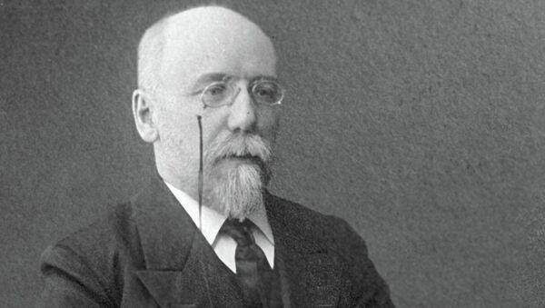 Писатель Федор Кузьмич Сологуб