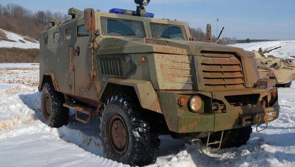 Бронированная машина СПМ-3 Медведь