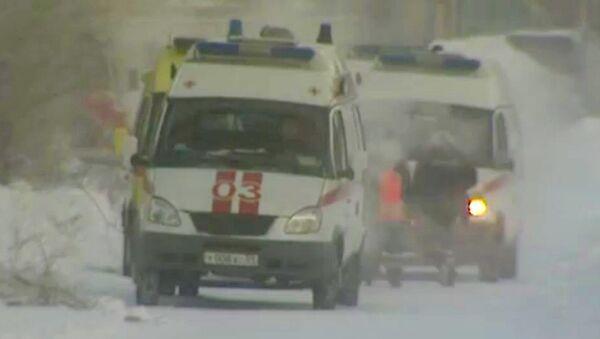 Пострадавших от хлора на заводе в Пермском крае увозили на скорых с места ЧП