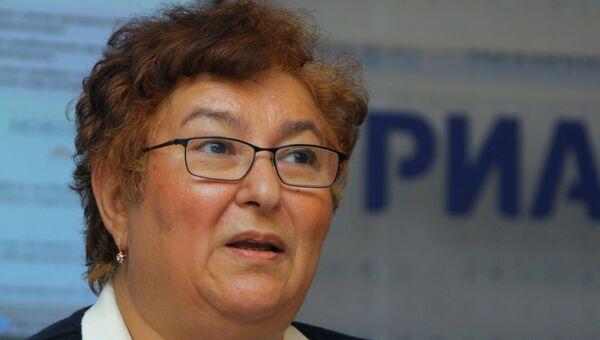 Заместитель председателя правления Сбербанка РФ Белла Златкис. Архивное фото