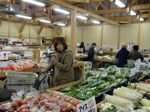 Фукусима. Фермерский рынок Прямо с грядки