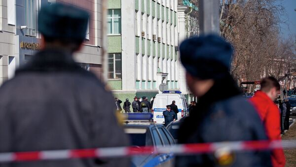 Преступник удерживает заложников в Астраханском колледже