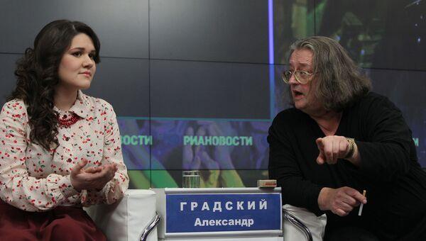 Дина Гарипова и Александр Градский