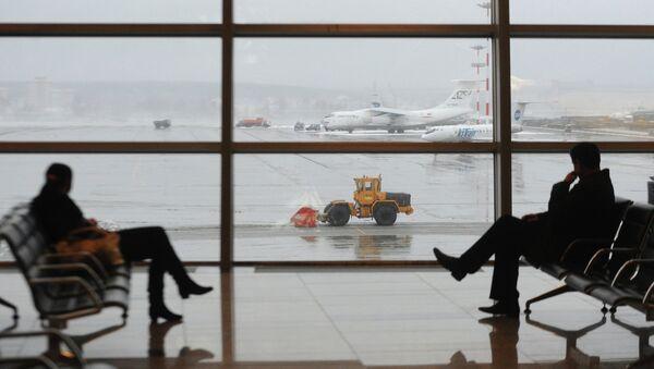 Пассажирский терминал А международного аэропорта Внуково. Архив