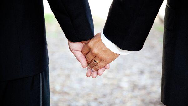 Однополые браки. Архивное фото