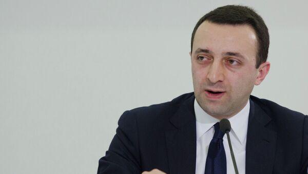 Министр Внутренних Дел Грузии Ираклий Гарибашвили. Архивное фото