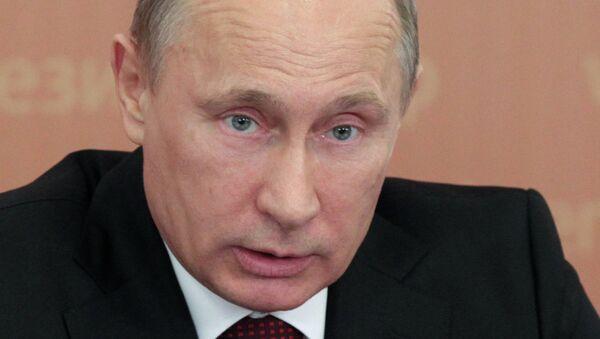 Президент РФ Владимир Путин на заседании Совета при президенте РФ по развитию физической культуры и спорта