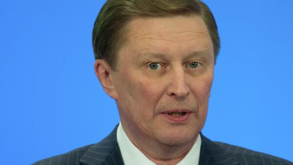 Руководитель администрации президента России Сергей Иванов