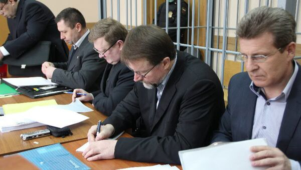 Экс-губернатор Тульской области Вячеслав Дудка в суде