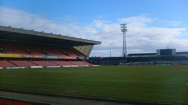 Стадион Виндзор Парк в Белфасте, Ирландия
