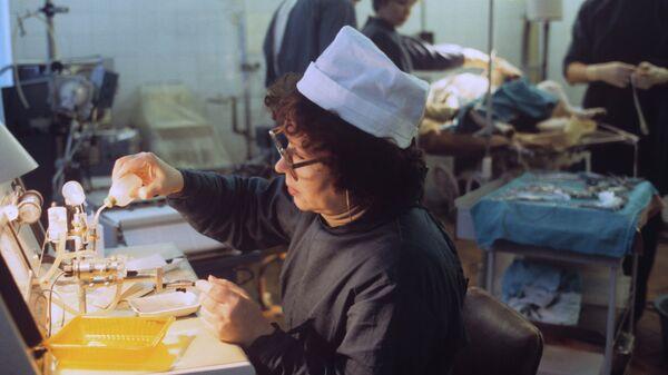 В Центральном НИИ туберкулеза, архивное фото