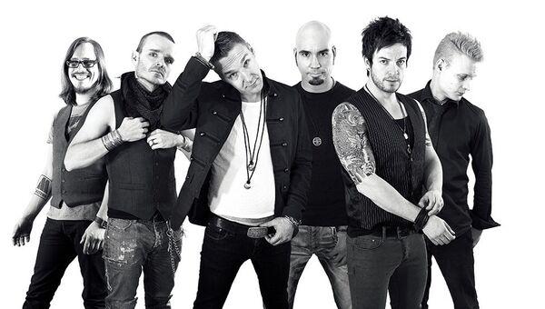 Финская рок-группа Poets Of The Fall