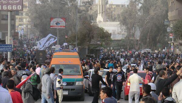 Столкновения на Мукаттаме в Каире. Архив