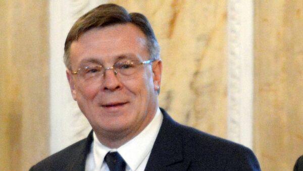 Бывший министр иностранных дел Украины Леонид Кожара. Архивное фото