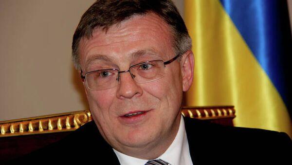 Министр иностранных дел Украины Леонид Кожара, архивное фото