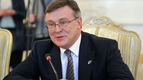 Экс-глава МИД Украины Леонид Кожара. Архивное фото