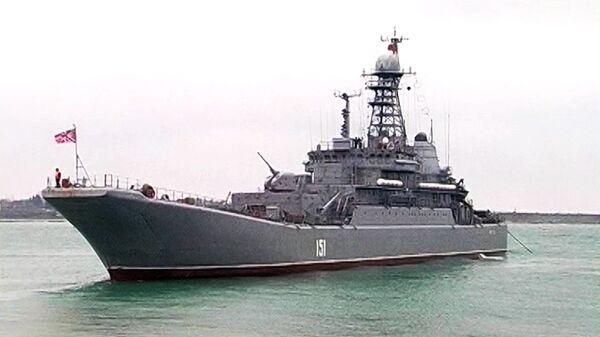 Крупномасштабные военные учения Черноморского флота РФ, архивное фото