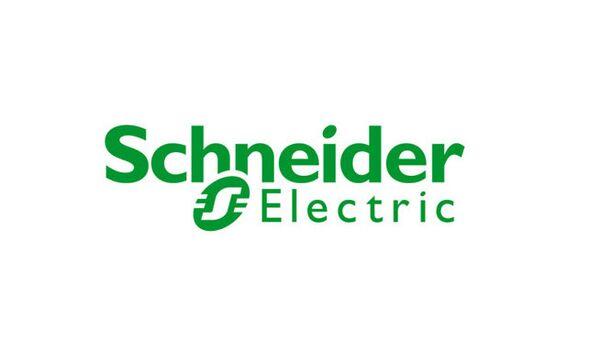 Логотип Schneider Electric. Архивное фото