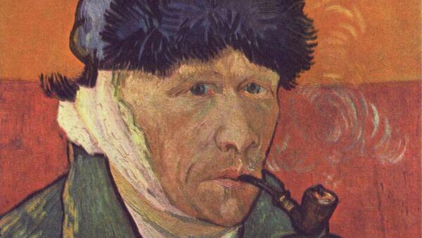 Винсент Ван Гог. Автопортрет с отрезанным ухом, 1889