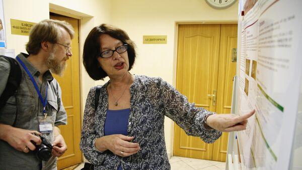 Доктор биологических наук Татьяна Строганова