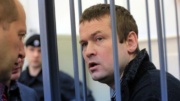 Оппозиционер Леонид Развозжаев в суде