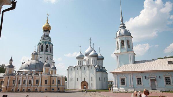 Вологодский кремль, архивное фото