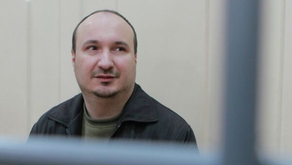Активист Левого фронта Д.Рукавишников. Архивное фото