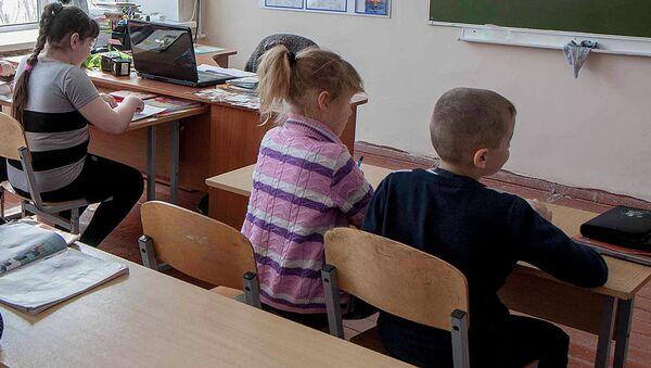 Класс в школе. Архивное фото