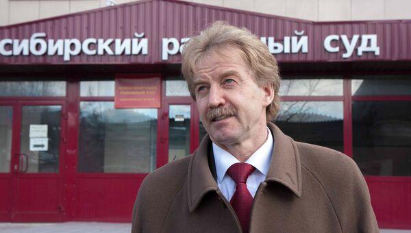 Мэр наукограда Кольцово Николай Красников