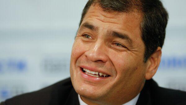 Экс-президент Республики Эквадор Рафаэль Корреа. Архивное фото