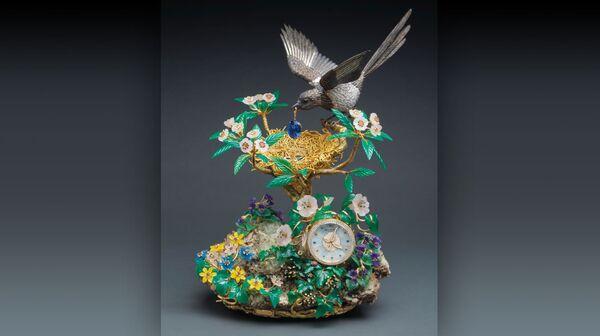 Самые дорогие часы Patek Philippe Magpie's Treasure Nest Clock