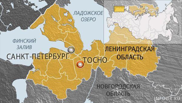Город Тосно Ленинградской области
