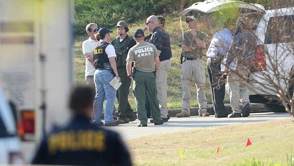 На месте захвата заложников в штате Джорджия, США