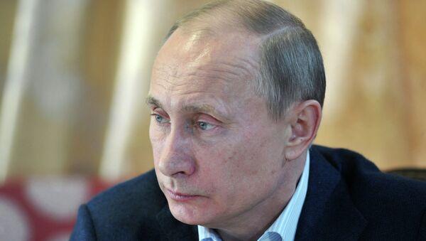 Рабочая поездка В.Путина в Сибирский федеральный округ