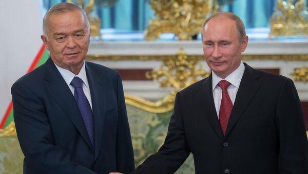 Визит президента республики Узбекистан И. Каримова в РФ. Архивное фото