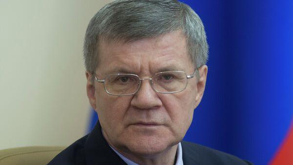 Генеральный прокурор РФ Юрий Чайка, архивное фото