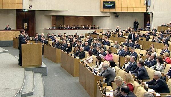 Медведев о замедлении роста экономики РФ, дефиците бюджета и безработице