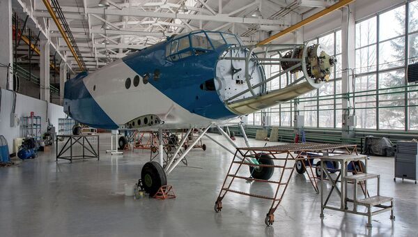 Переоборудование Ан-2 СибНИА. Архивное фото