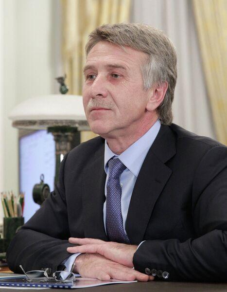Генеральный директор и председатель правления ОАО НОВАТЭК Леонид Михельсон