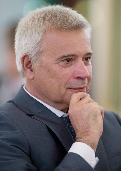 Президент ОАО Лукойл Вагит Алекперов