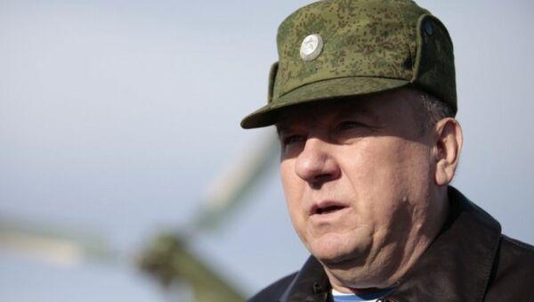 Командующий Воздушно-десантными войсками (ВДВ) генерал-полковник Владимир Шаманов