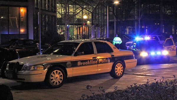 Полиция оцепила подъезды к институту в Бостоне, где произошла стрельба
