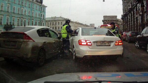 ДТП, в котором предположительно участвовал Павел Дуров