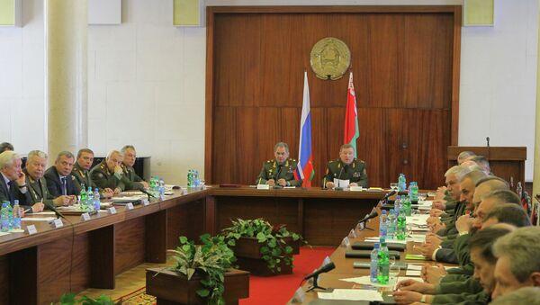 Совместная коллегия министерств обороны Белоруссии и России
