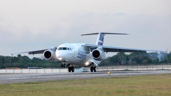 Самолет АН-158. Архив
