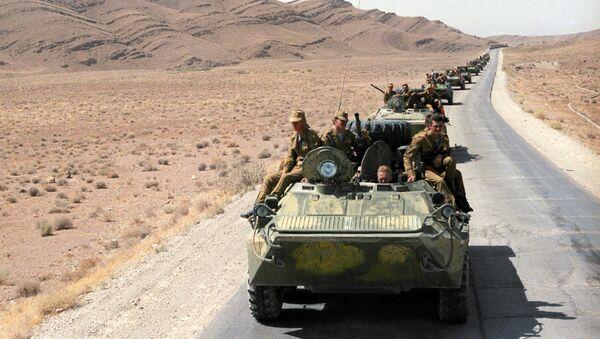 Вывод ограниченного контингента советских войск из Афганистана. Архивное фото