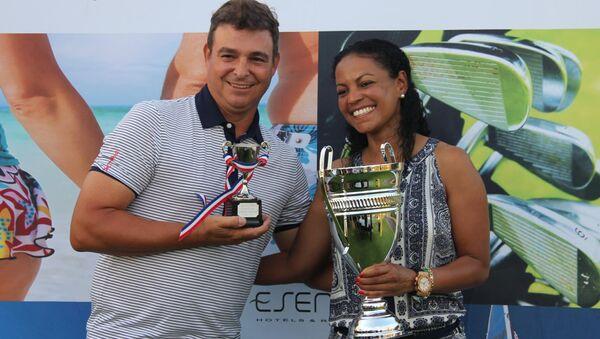 Сын Фиделя Кастро победил на международном чемпионате по гольфу